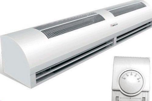 Что такое тепловая завеса, сферы ее применения?
