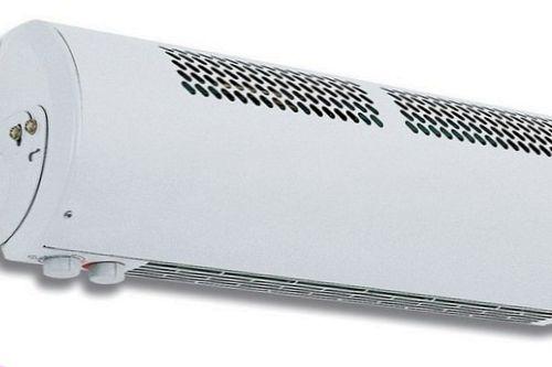 Использование воздушных тепловых завес