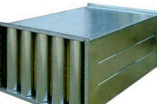Источники звуков и глушители шума вентиляционных установок