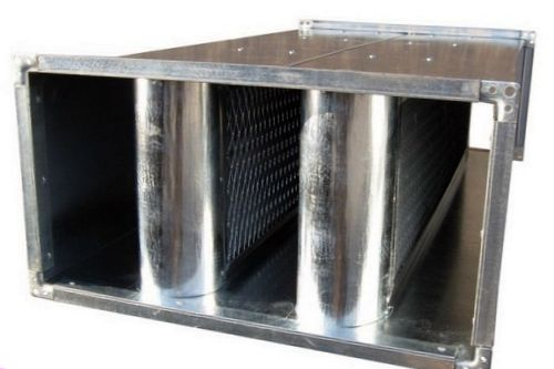 Пластинчатый шумоглушитель для вентиляции