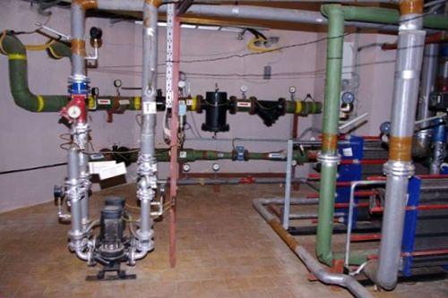 Присоединение систем отопления к тепловой сети