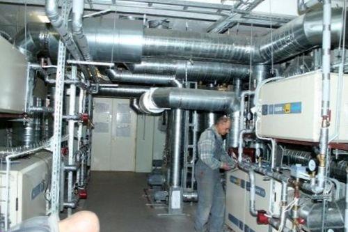 Проектные решения при устройстве воздуховодов системы вентиляции