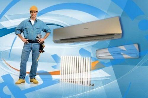Установка климатического оборудования