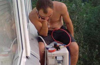 Установка кондиционера своими руками смотреть - Italprom.ru