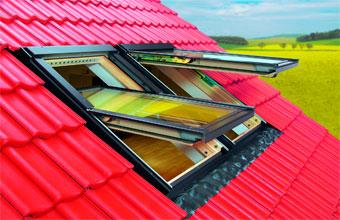 Система вентиляции в мансардных окнах